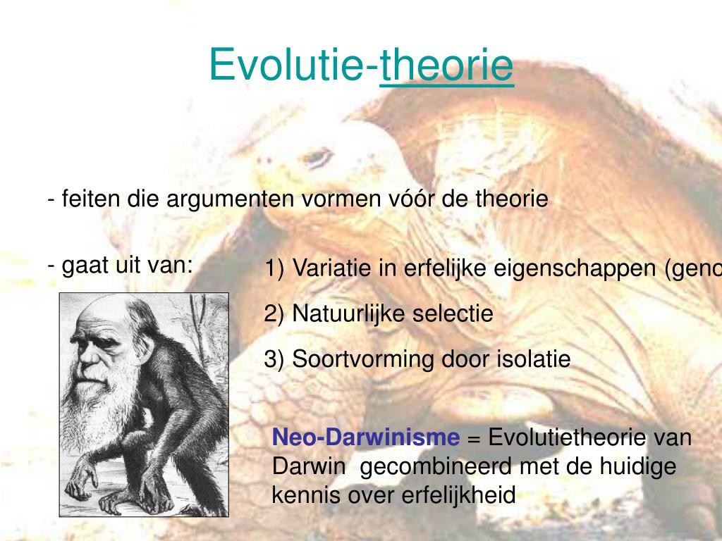 Evolutie-