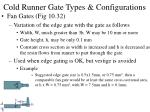 cold runner gate types configurations36