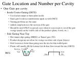 gate location and number per cavity5