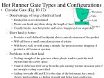 hot runner gate types and configurations16