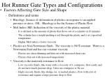 hot runner gate types and configurations25