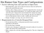 hot runner gate types and configurations28