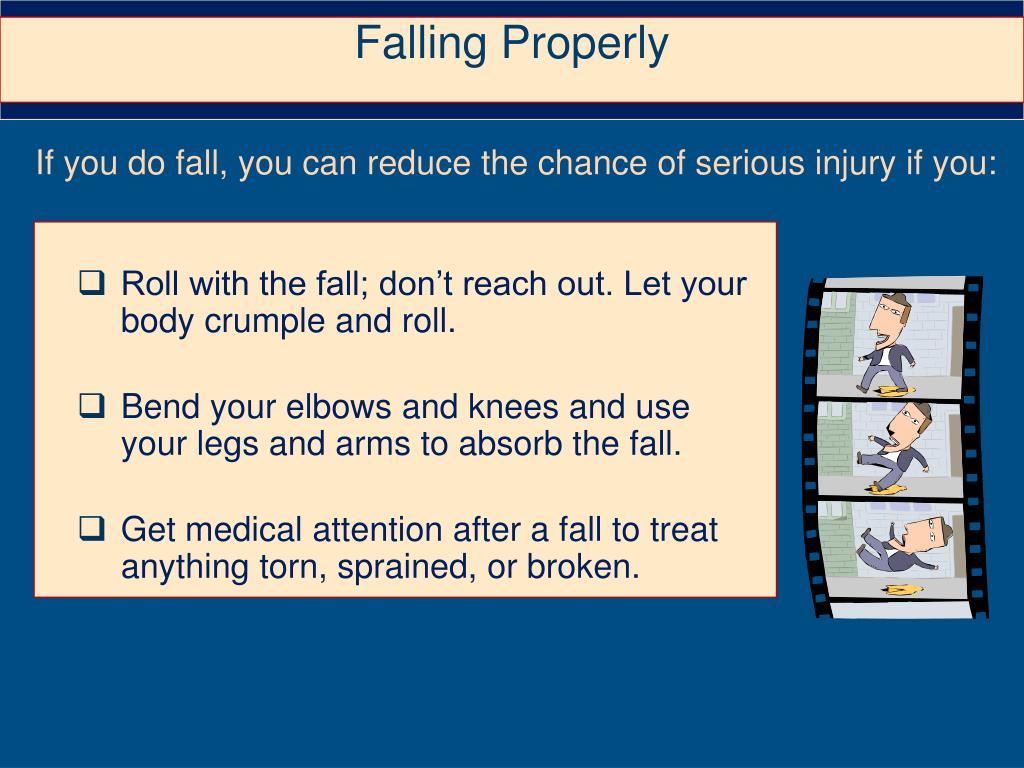 Falling Properly