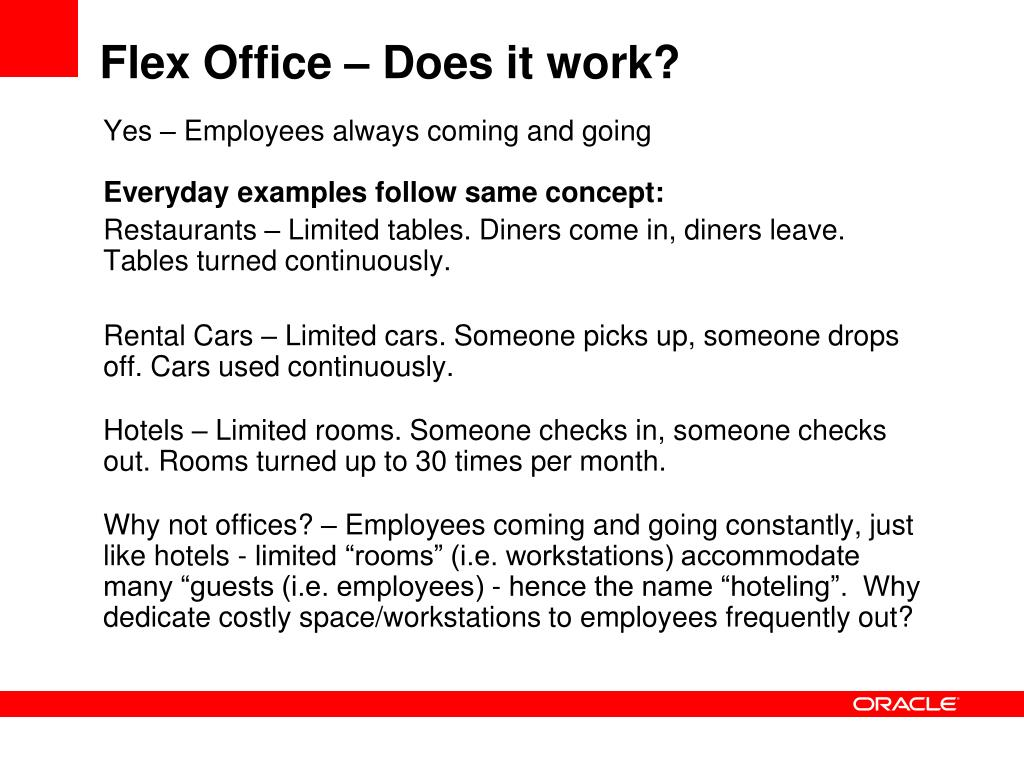 Flex Office – Does it work?