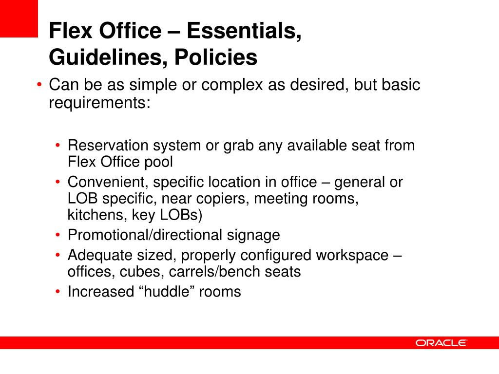 Flex Office – Essentials,