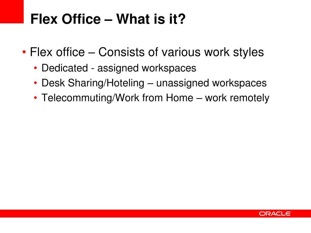 Flex Office – What is it?