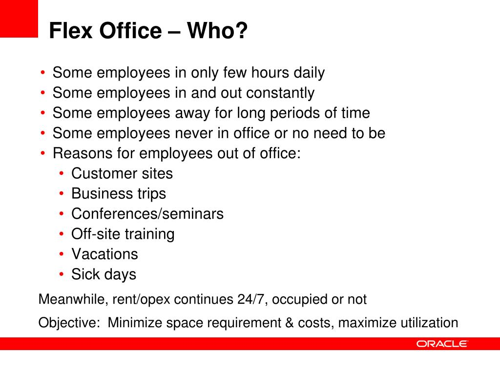 Flex Office – Who?