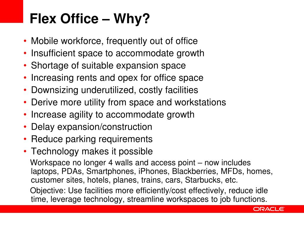 Flex Office – Why?