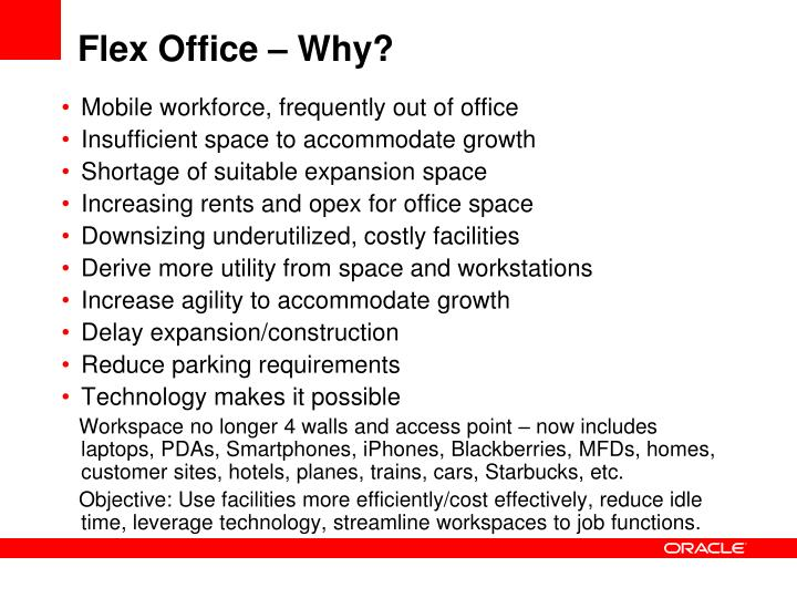 Flex office why