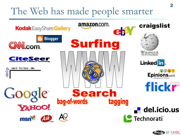 The web has made people smarter
