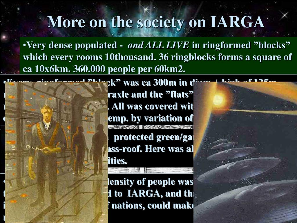 More on the society on IARGA