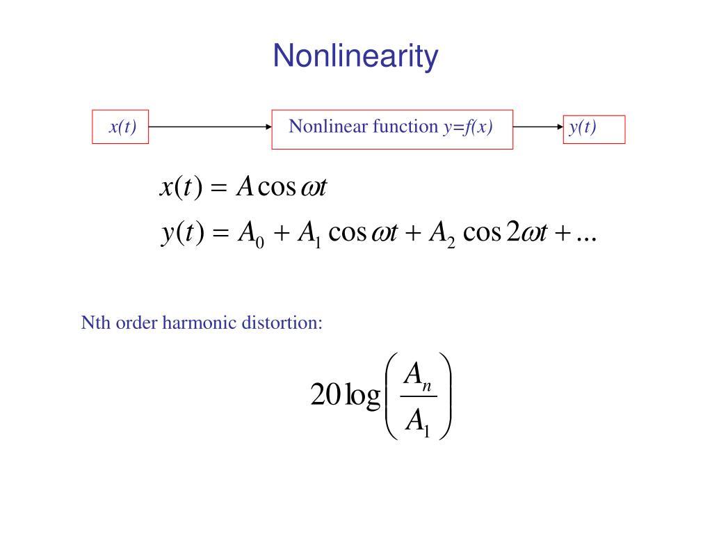 Nonlinearity