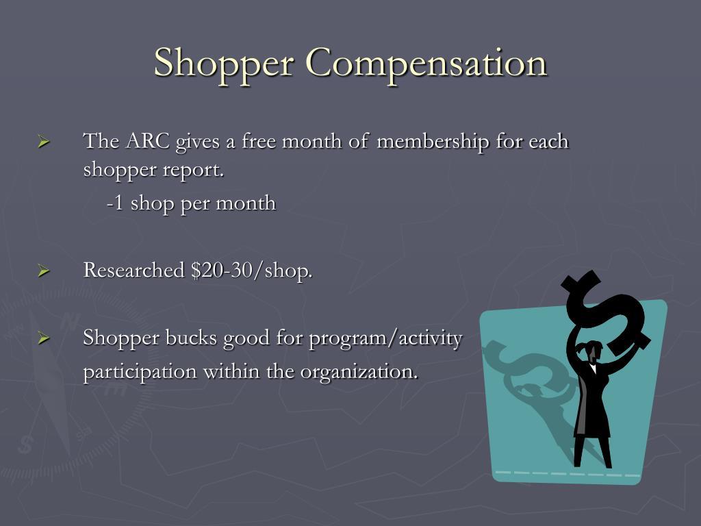 Shopper Compensation