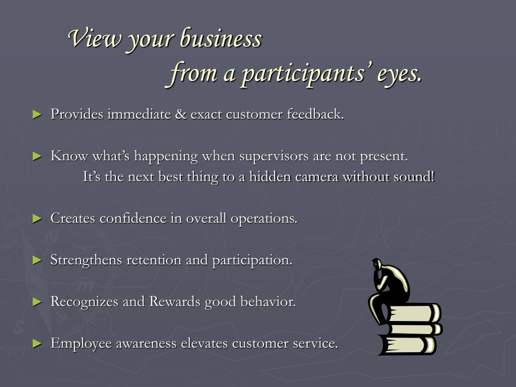 View your business
