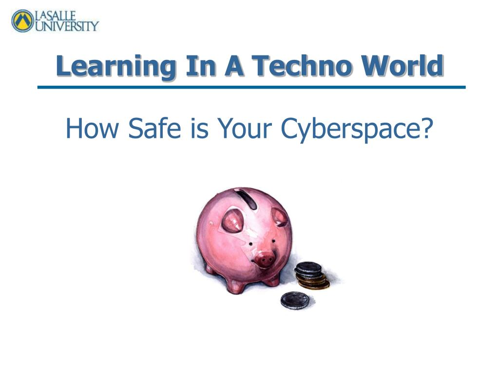 learning in a techno world l.