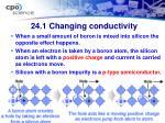 24 1 changing conductivity18