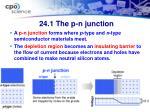24 1 the p n junction