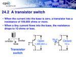 24 2 a transistor switch29