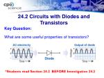 24 2 circuits with diodes and transistors36