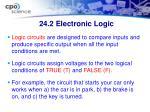 24 2 electronic logic