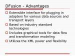 dfusion advantages