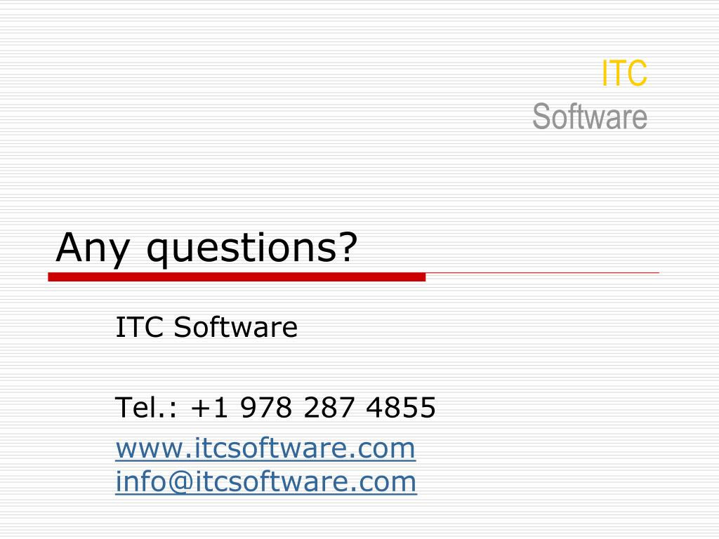 ITC Software