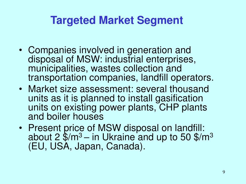 Targeted Market Segment