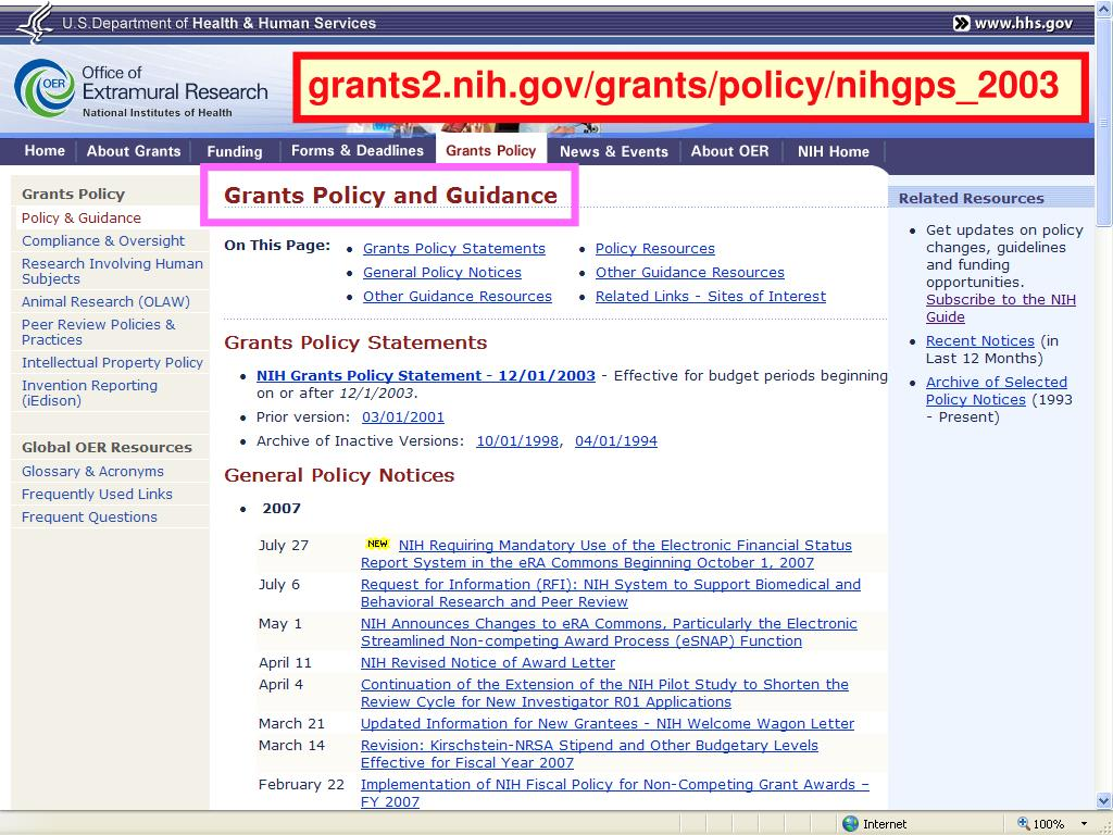 grants2.nih.gov/grants/policy/nihgps_2003