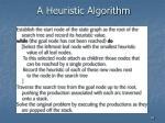 a heuristic algorithm