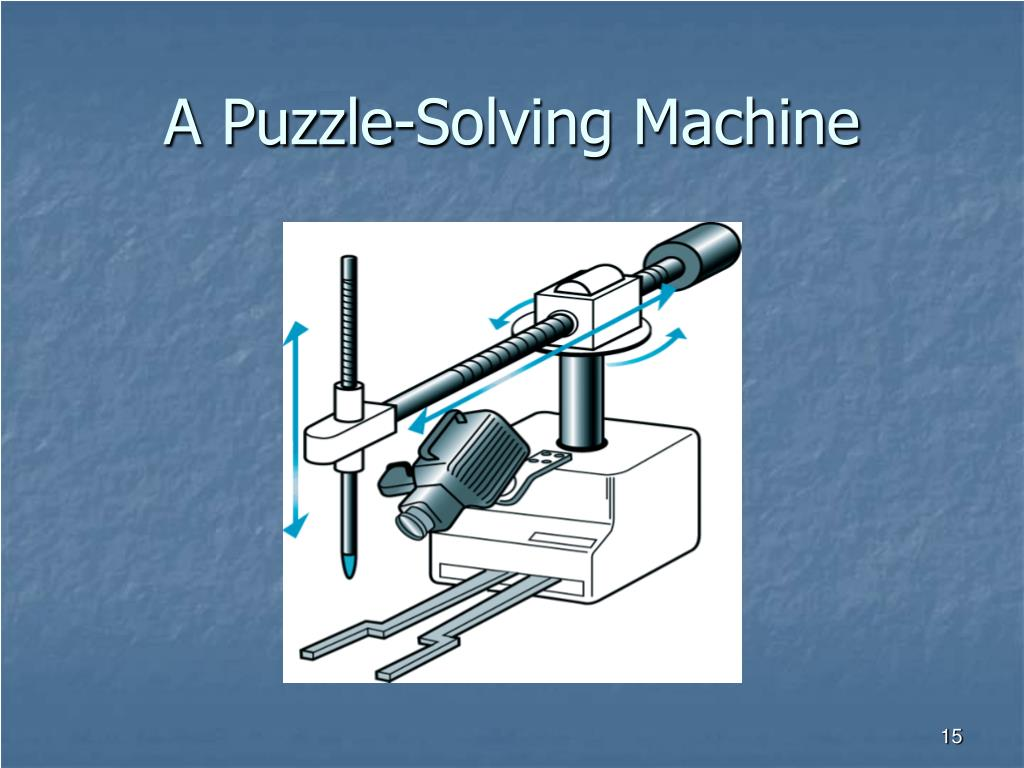 A Puzzle-Solving Machine