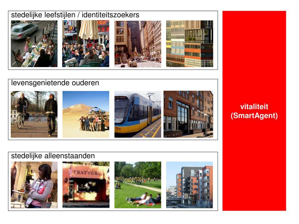 stedelijke leefstijlen / identiteitszoekers