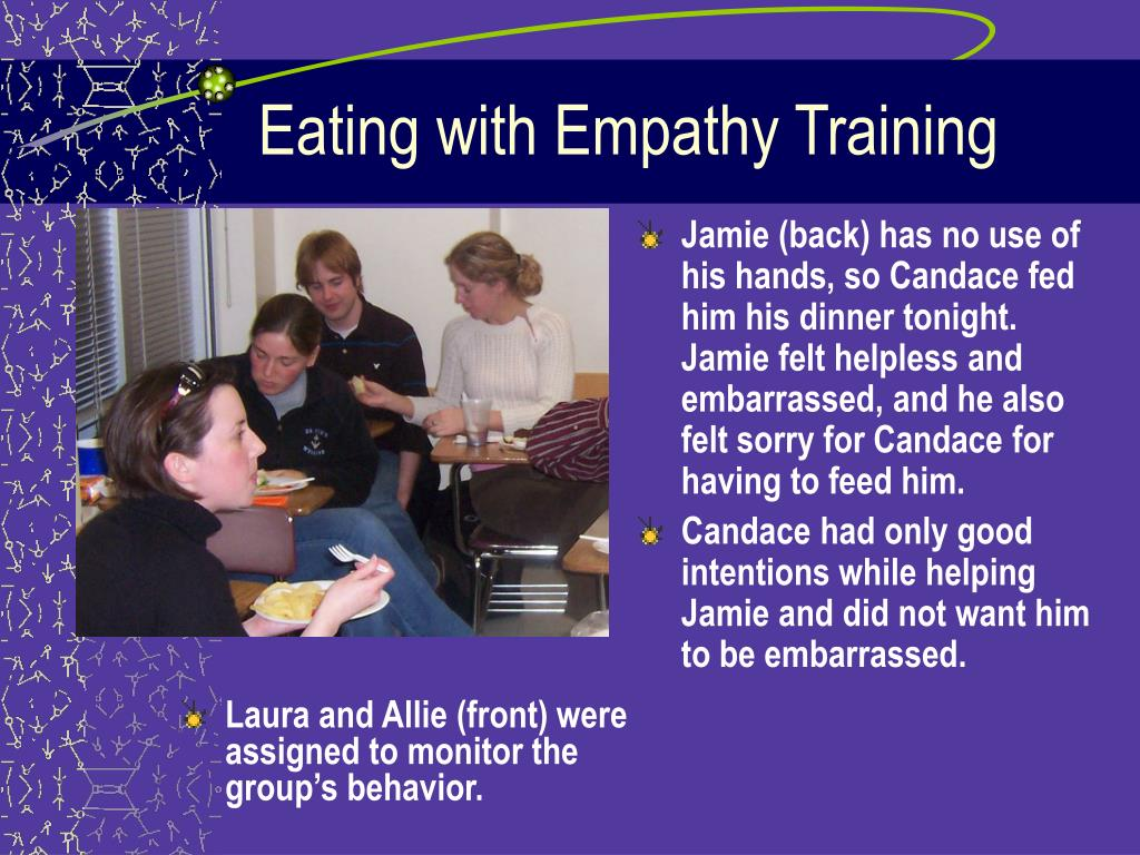 Eating with Empathy Training