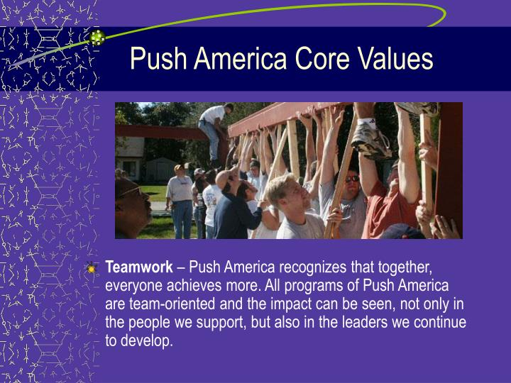 Push america core values3