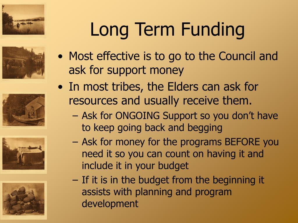 Long Term Funding