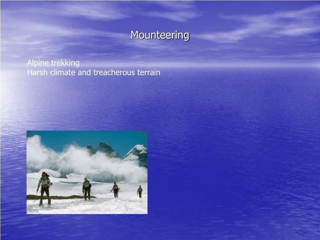 Mounteering