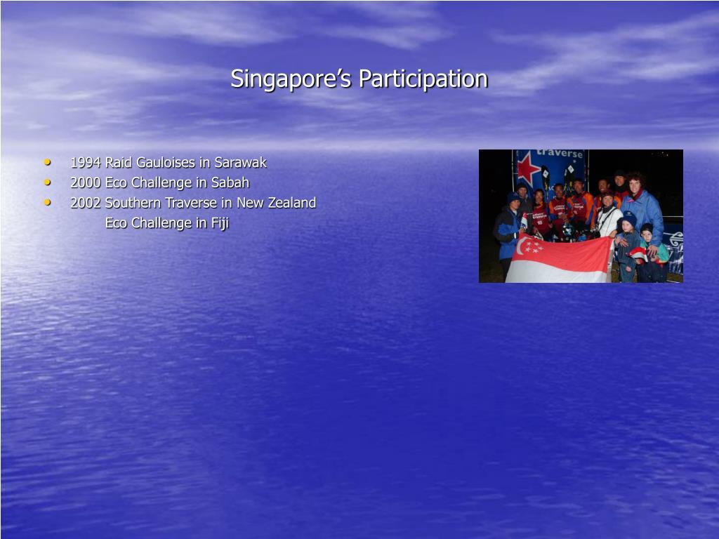 Singapore's Participation
