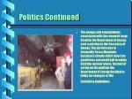 politics continued24