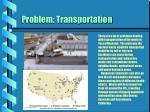 problem transportation