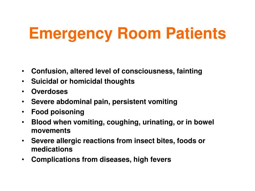 PPT - Emergency Room PowerPoint Presentation - ID:26005
