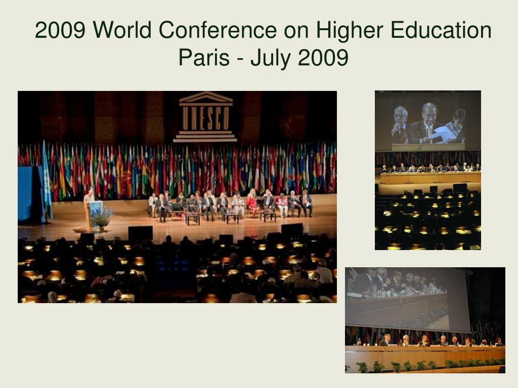 2009 World Conference on Higher Education