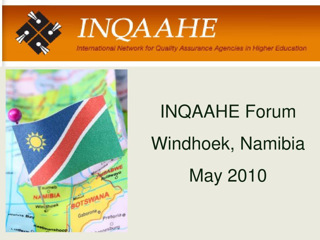 INQAAHE Forum