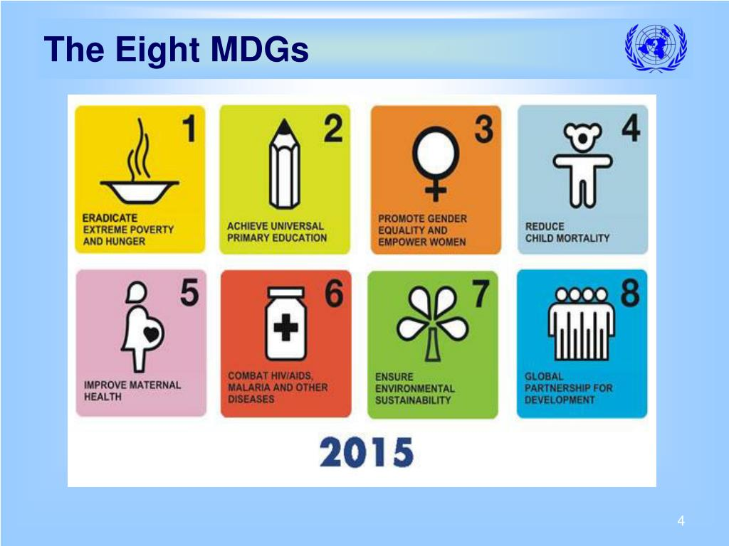 The Eight MDGs