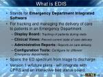 what is edis