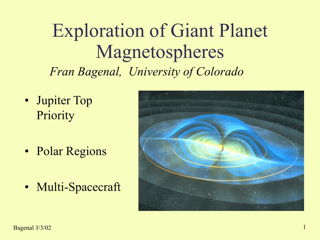 exploration of giant planet magnetospheres l.