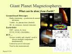 giant planet magnetospheres6