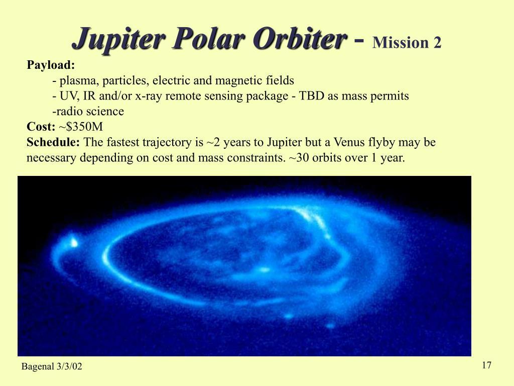 Jupiter Polar Orbiter