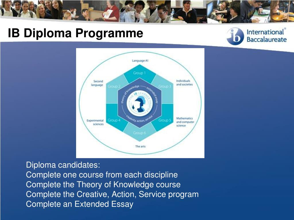 Diploma candidates: