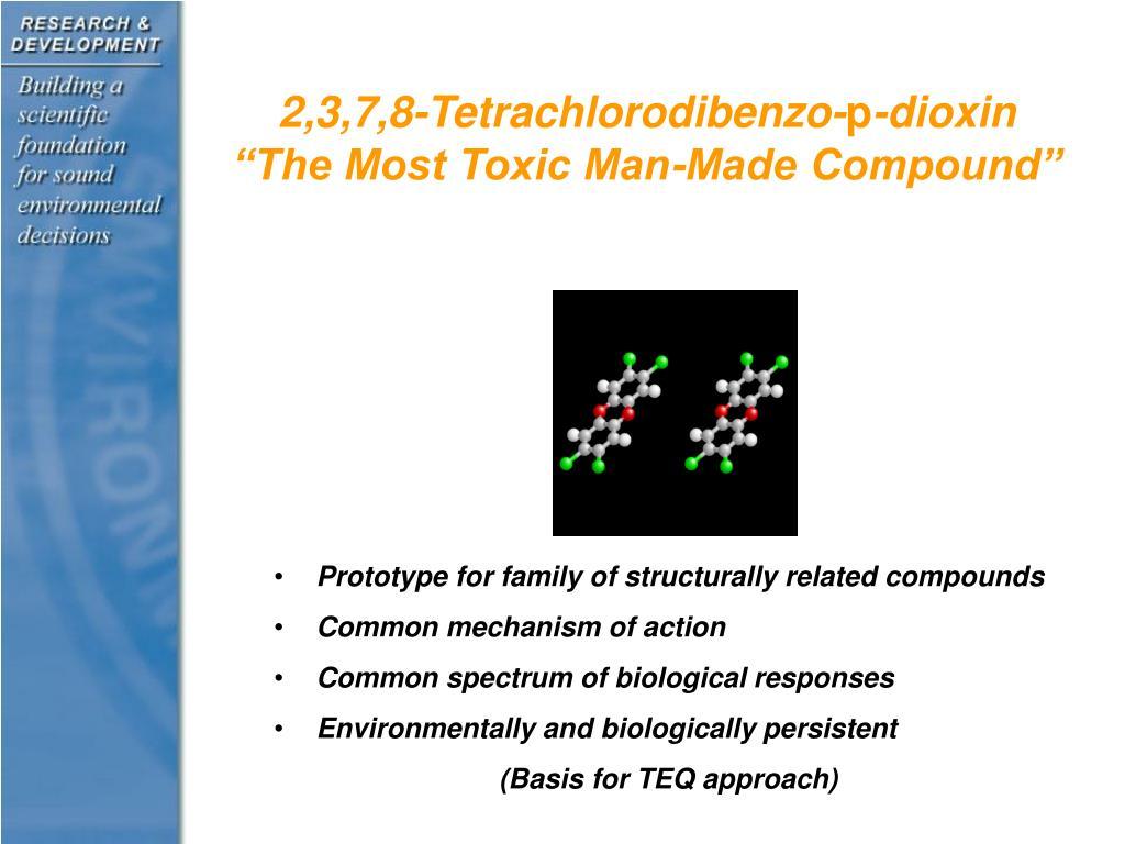 2,3,7,8-Tetrachlorodibenzo-