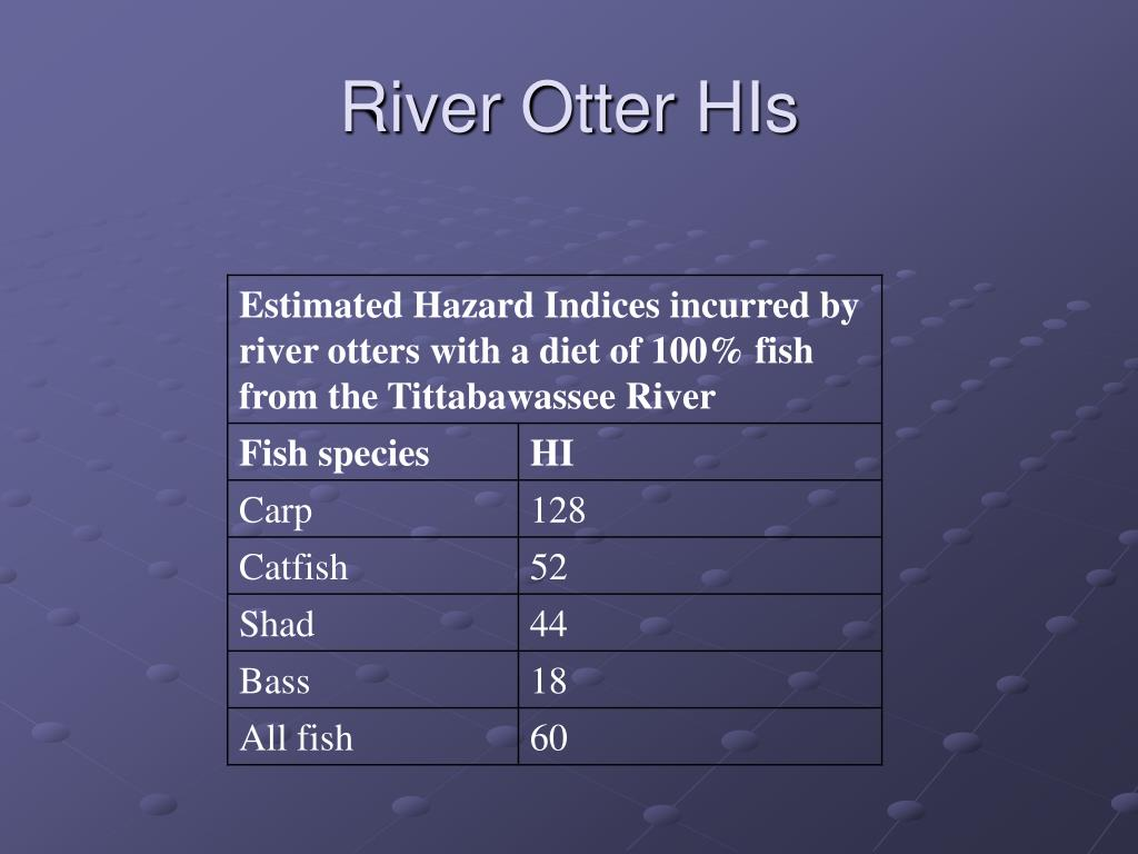 River Otter HIs