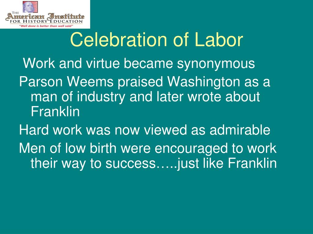 Celebration of Labor